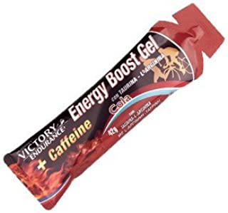 Victory Endurance Gel Energy Boost 12  x 42  g Colle Cafeine