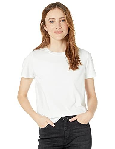 The Drop Courtney, T-shirt Da Donna, In Jersey, Girocollo, A Maniche Corte T-Shirt Donna