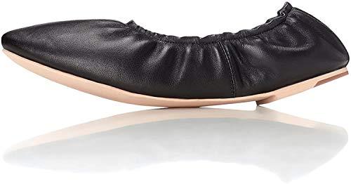 Find Bailarinas con elástico para Mujer, Negro (Black), 36 EU