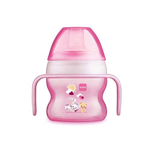 MAM Babyartikel 67018322 - Tazza antigoccia per bambina, 150 ml