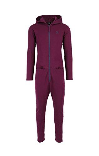 OnePiece Damen UNO Jumpsuit, Violett (Burgundy), 40 (Herstellergröße: L) - 6