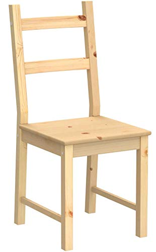 Ikea Ivar Stuhl aus massiver Kiefer