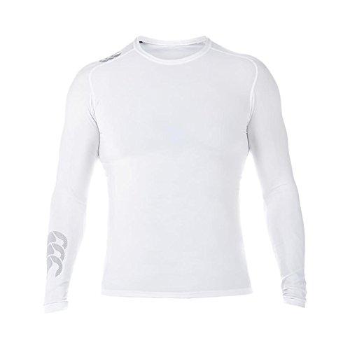 Canterbury Contrôle Mercury TCR Haut d'entraînement Manches Longues Homme, Blanc, FR (Taille Fabricant : 2XL)