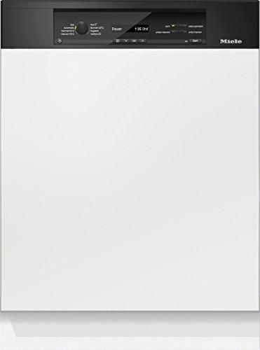 Miele G6700 SCi D OS230 2,1 Geschirrspüler Teilintegriert / A+++ / 237 kWh/Jahr / 2716 Liter/Jahr / 14 MGD / Beste Energieeffizienz / Frischwasserspüler ab 6.5 Liter Wasserverbrauch / obsidian schwarz