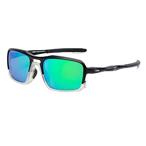 NBJSL Gafas de sol deportivas Ultra Light Tr90 Frame Gafas de sol polarizadas al aire libre para hombres Exquisito embalaje de regalo