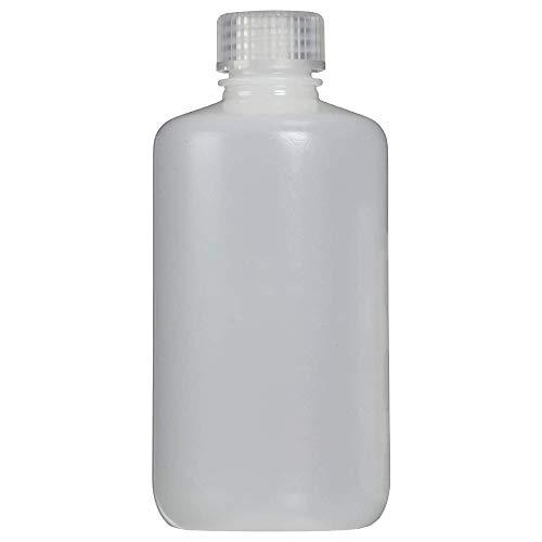 Nalgene Narrow Neck Round Bottle, White, 250 ml