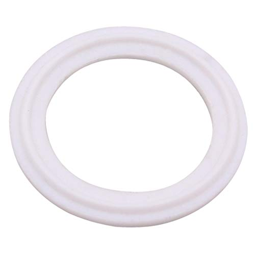 DERNORD Tri-Clamp Gasket PTFE (Teflon) O-Ring - 6 Inch Style Fits OD 168MM Sanitary Pipe Weld Ferrule (Pack of 1)