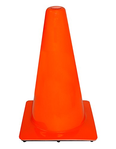3M 90128-00001-10, 18' Professional Quality Non Reflective Safety Cone, 10-Pack