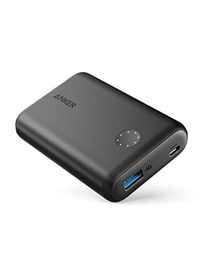 Anker Powercore II 10000, Ultra-Compact 10000mAh Portable Charger, Upgraded Poweriq 2.0 (up to 18W Output), Fast Charge for iPhone, Samsung Galaxy and More (Compatible with Quick Charge Devices)