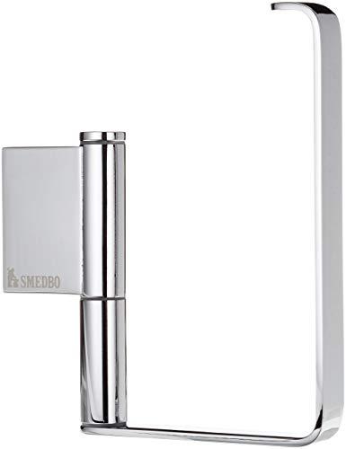 Soporte para Papel higiénico Smedbo «Air» sin Tapa, Color Plateado