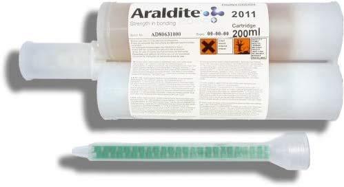 Araldite 2011 – Epoxy-Kleber, 2 Komponenten, vielseitig einsetzbar, 200 Milliliter