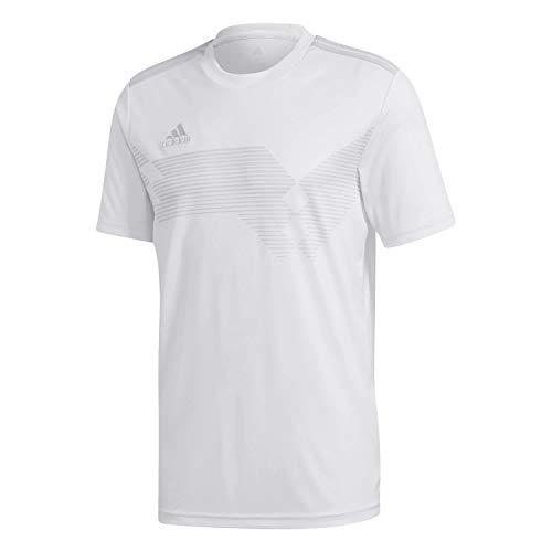adidas Campeon 19 Jersey Maglia, Uomo, White/Clear Grey, M