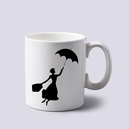 Mug pratiquement Parfait en Tout Mary Poppins Tasse à Deux côtés 311,8 Gram Céramique