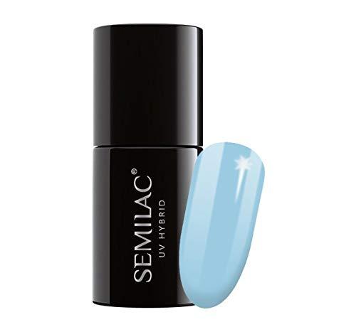 Semilac UV Hybrid Nagellack 807 Extend 5in1 Pastel Blue 7ml
