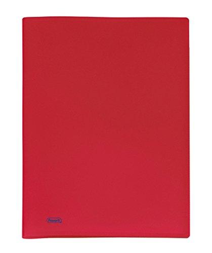 Favorit 400035523 Portalistino con 40 Buste, Formato Interno 22 x 30 cm, Rosso