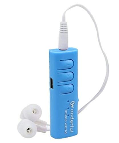 King Shine Portable Mini Digital Mp3 Player with Earphone and USB Cable with SD Card Slot (Colour May Vary) (3 LED)