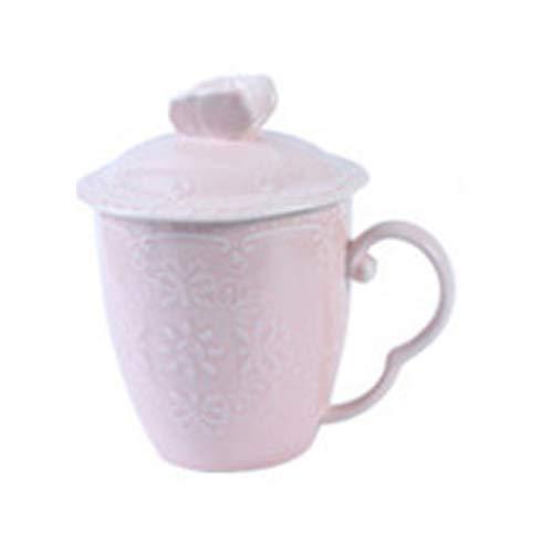 Copa De Vino Taza De Café Taza350Ml Emboss Ceramic Mug Travel Coffee Mug Milk Tea Cups Butterfly Mugs Gift 5 Colors Available