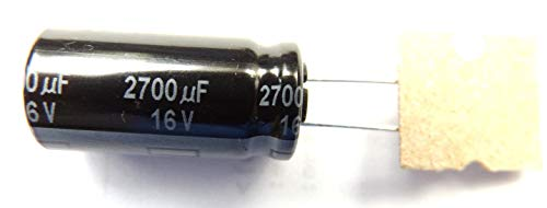 RADIAL 16V CAPACITOR 680UF EEUFR1C681L Pack of 5 By PANASONIC ELECTRONIC COMPONENTS
