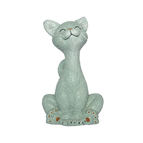 BBABBT Estatuilla de Gato para jardín