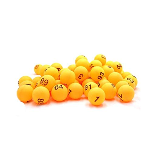 Best Deals! SHENGSHIHUIZHONG Table Tennis, Lottery Balls, Number Balls, Digital Table Tennis, Seamle...
