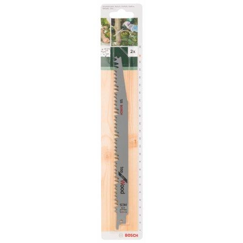 Bosch DIY top for Wood reciprozaagblad voor hout voor het zagen van hout, 2 stuks, S 1131 L