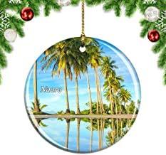 Kysd43Mill Nauru .png Weihnachtsbaum-Dekoration, hängende Ornamente, Keramik, Weihnachtsdekoration, Weihnachts-Geschenke