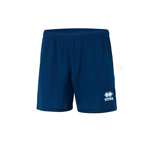 Errea New Skin, Pantaloncini Sportivi Uomo, Blu, M