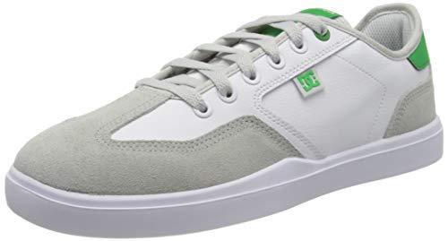 DC Shoes Herren VESTREY Skateboardschuhe, Weiß (White/Grey/Green Xwsg), 44 EU