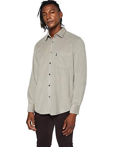 BOSS Relegant_2 Camisa, Open Grey (60), XL para Hombre