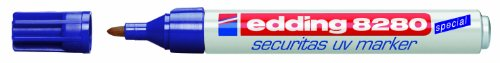 Edding 8280 UV Security Marker Bullet Tip 1.5-3mm Ref 4-8280100 [Pack 10]