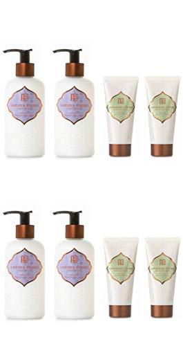 AKALIKO Lavender Cherish Body Lotion and Lemongrass Essence Hand Cream - Set C.