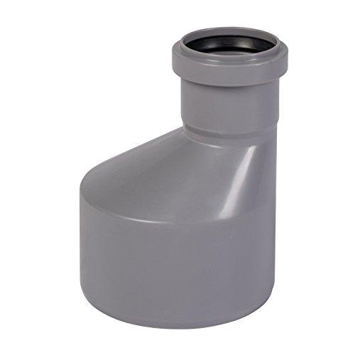HT-Übergangsrohr DN 110/50 mit einseitiger Muffe
