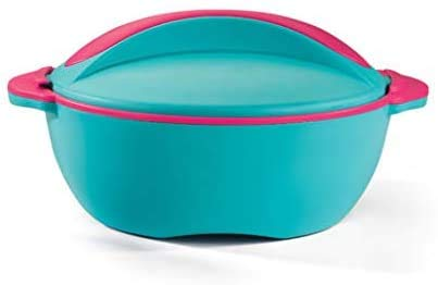 Casserole - Large Hot Pot Soup and Salad Bowl - Insulated Serving Bowl With Lid - Soft Touch, BPA Free, FDA, Keeps Cold & Hot (5LT)