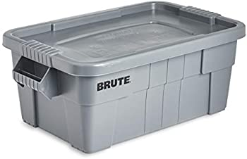 Rubbermaid Commercial Brute Tote 14- Gallon Storage Bin with Lid