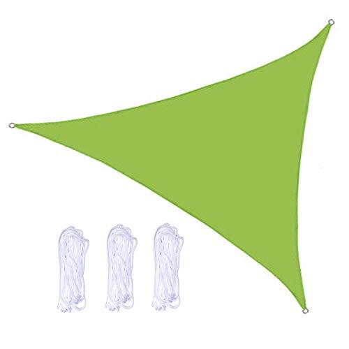 QWESHTU Exterior Toldo Vela de Sombra, Vela de Sombra, Toldo Vela Impermeable, protección Rayos UV, Toldo Resistente e Lmpermeable, para Patio Exteriores Jardín