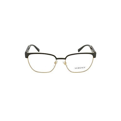 Versace Luxury Fashion Herren 1264VISTA1436 Schwarz Metall Brille   Frühling Sommer 20