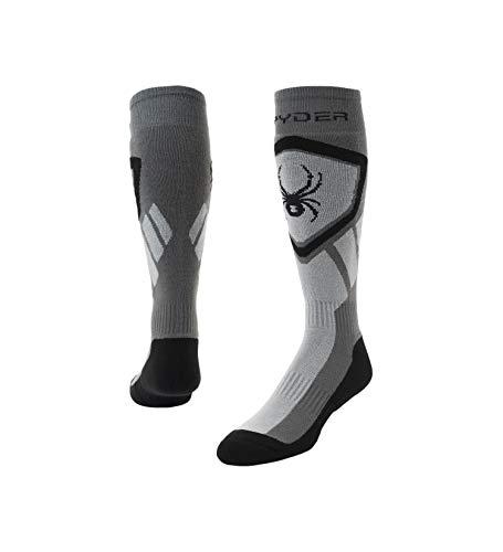 Spyder Herren Dare Socken, Polar/Alloy/Black, XL