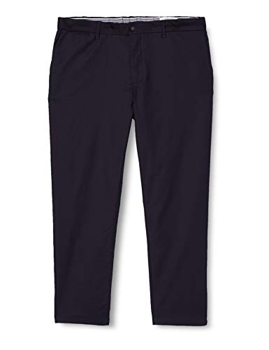 Springfield Herren Chino Knitt Navy-c/10 Hose, Blau (Navy 155714910), 42 (Herstellergröße: 44)