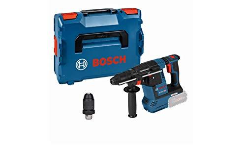 Bosch Professional 611910001 18V System Perforateur sans-fil GBH 18V-26 F (sans Batterie/Chargeur, avec Poignée Supl, Butée de Profondeur, Chiffon, Mandrin Interchangeable SDS Plus, dans une L-BOXX)
