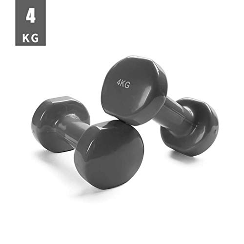 Pair of Rubber Dumbbell Non Slip Grip, Dumbbells Weight Set, Hand Weights Set, Set of Two Dumbbells for Men & Women Weights Fitness Home Gym Exercise Barbell (Size : 1kg x 2)