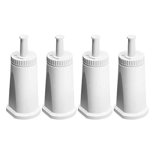 Kaffeemaschine Wasserfilter Kartusche für SES BES008 SES875 SES880 Barista Touch Ersatz für 990/980/500/878/875/880/920/810, Packung mit 4