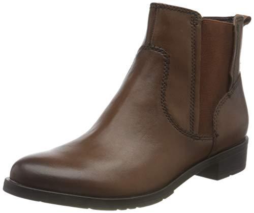 Jana 100% comfort Damen 8-8-25309-25 Stiefelette, Cognac, 38 EU