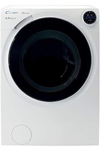 Candy BWM 128PHN7/1-S lavatrice Libera installazione Caricamento frontale Nero, Bianco 8 kg 1200 Giri/min A+++