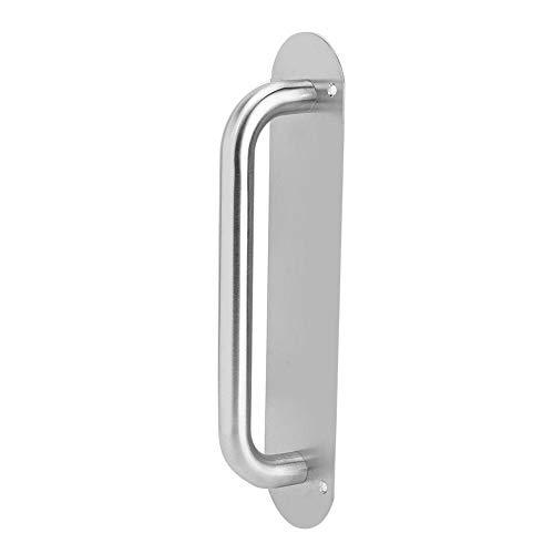 KSTE Edelstahl-Pull- und Push-Platten-Tür-Zugang Türzuziehgriff mit Schrauben (Oval 280 * 65mm)