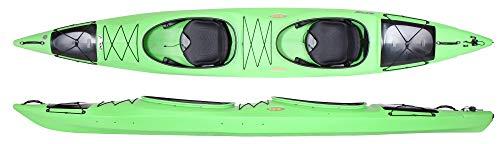 Prijon Dayliner Duo super Zweisitzer Kajak tolles unkomplizierter Zweierkajak, Prijon Farben :grün, Prijon Ausstattung:Standard