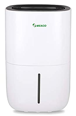 Meaco MeacoDry ABC 20L Compressor Dehumidifier Ultra-Quiet, Energy Efficient – Beats Desiccant Dehumidifiers on Sound Levels – Ideal for Damp and Condensation in Large Homes