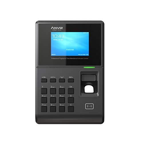 Anviz Tc580 Rilevazione Presenze e Controllo di Accesso: Biometrico, Card Rfid e Pin, Linux, Display HD 3.2', Tcp/Ip Poe, Wi-Fi e Pendrive Anviz Inclusa