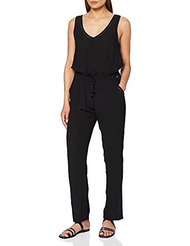 RIP CURL Kelly Combi Pant Pantalon Femme, Noir, FR : S (Taille Fabricant : S)