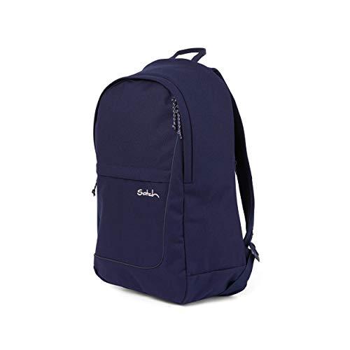 satch Fly, Rucksack für die Freizeit, Rückenpolster, großes Hauptfach - Stay Royal, Blau