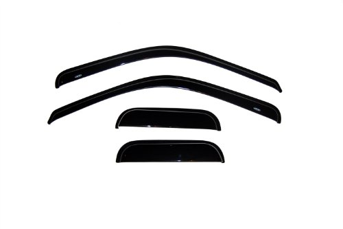 Auto Ventshade 94522 Original Ventvisor Side Window Deflector Dark Smoke, 4-Piece Set for 1999-2016 Ford F-250, F-350 Super Duty with SuperCab